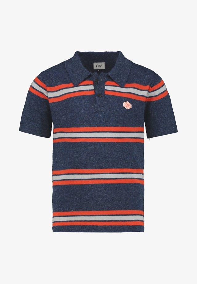 YIVAN - Polo shirt - indigo blue