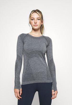 MOMENTUM - Long sleeved top - charcoal heather