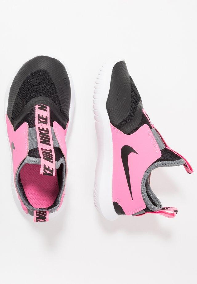 FLEX RUNNER - Chaussures de running neutres - black/pink glow/smoke grey