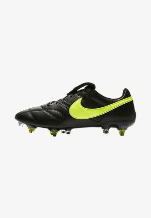 THE PREMIER II SG-PRO AC - Screw-in stud football boots - black/black/volt