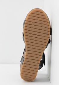 Ca'Shott - Platform sandals - black - 6