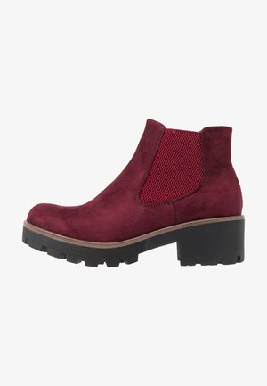 Ankle Boot - vino
