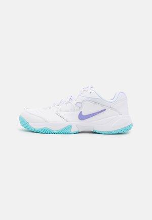 COURT LITE 2 - Scarpe da tennis per tutte le superfici - white/purple pulse/copa
