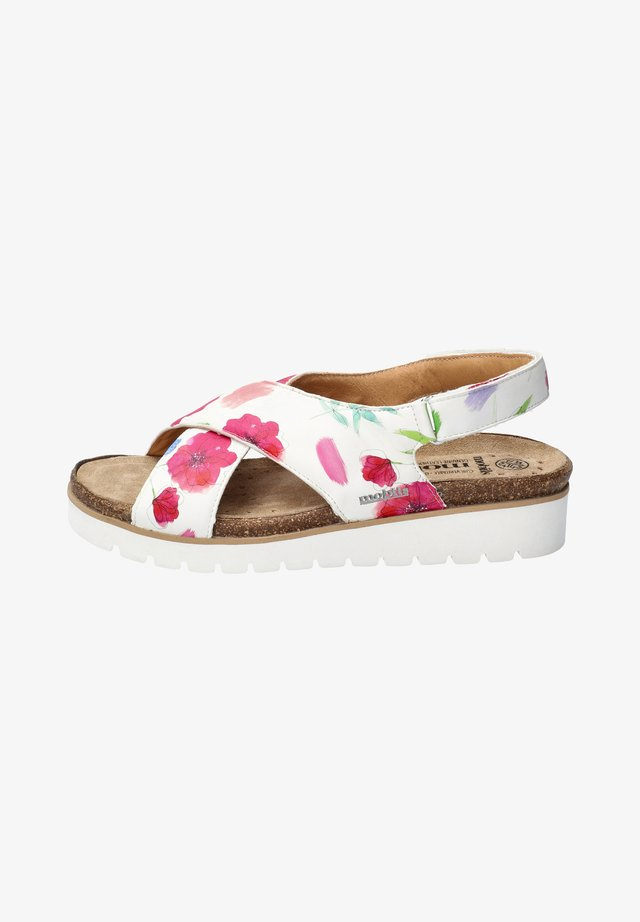 TALLY - Wedge sandals - multicolor