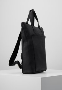Zign - UNISEX -LEATHER - Rucksack - black - 3