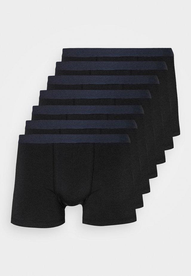 7 PACK - Pants - dark blue