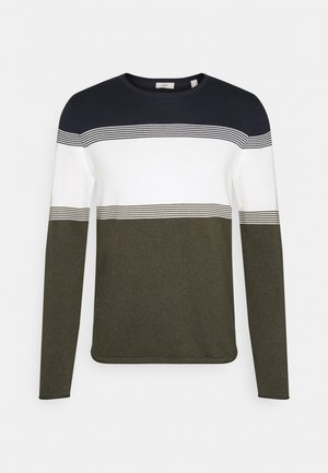 COO F STRIP  - Trui - dark khaki
