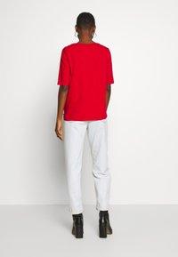 Esprit - Basic T-shirt - dark red - 2
