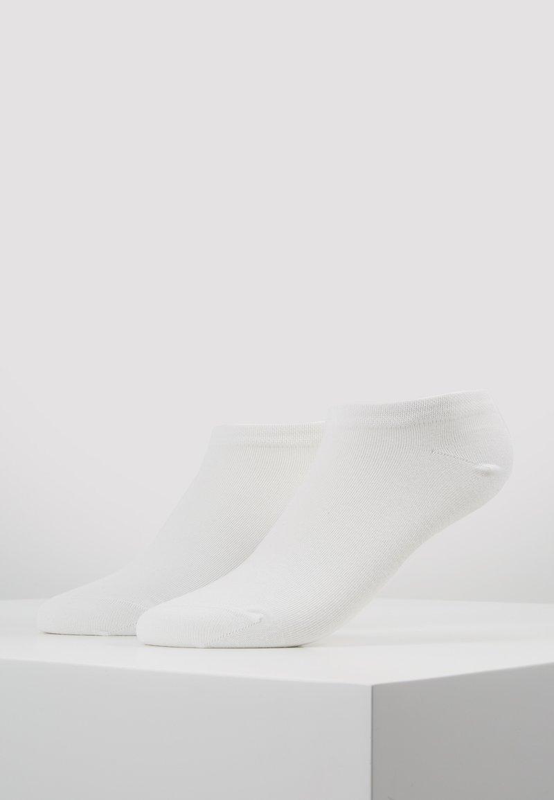 DIM - GREEN ECO SMART LINER SOCKS 2 PACK - Socks - white