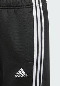adidas Performance - STRIPES AEROREADY PRIMEBLUE JOGGERS - Verryttelyhousut - black - 4