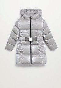Mango - Abrigo de invierno - silber - 2