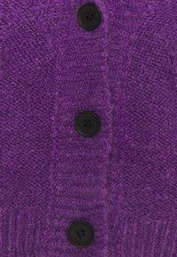 Molly Bracken - LADIES CARDIGAN - Cardigan - purple - 2