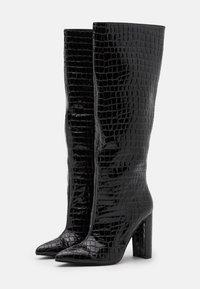Steve Madden - TAMSIN - High heeled boots - black - 2