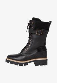 Tamaris - Cowboy/biker ankle boot - black comb - 0