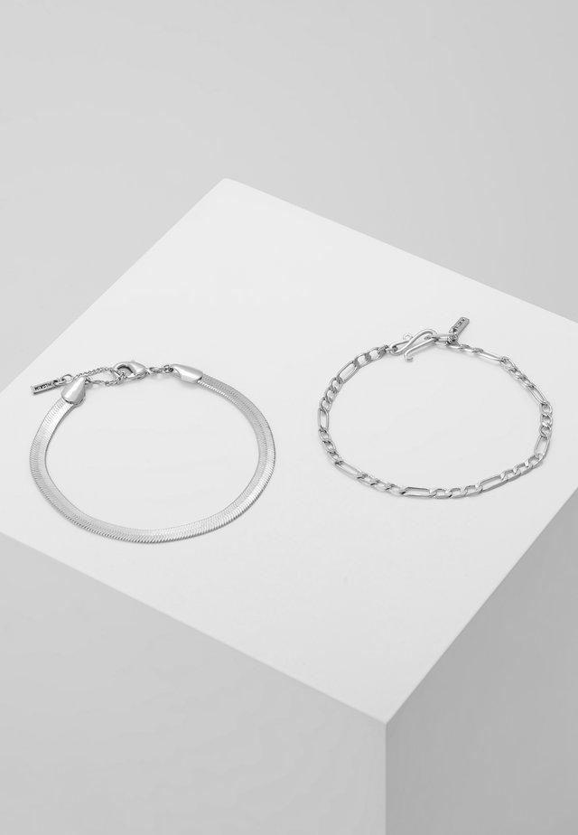 BRACELET YGGDRASIL 2 PACK - Bracelet - silver-coloured