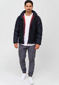 INDICODE JEANS - Winter jacket - black - 1