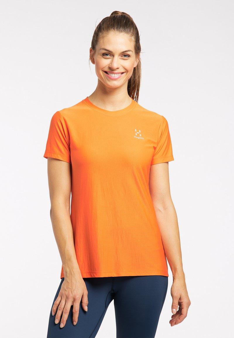 Haglöfs - Basic T-shirt - flame orange