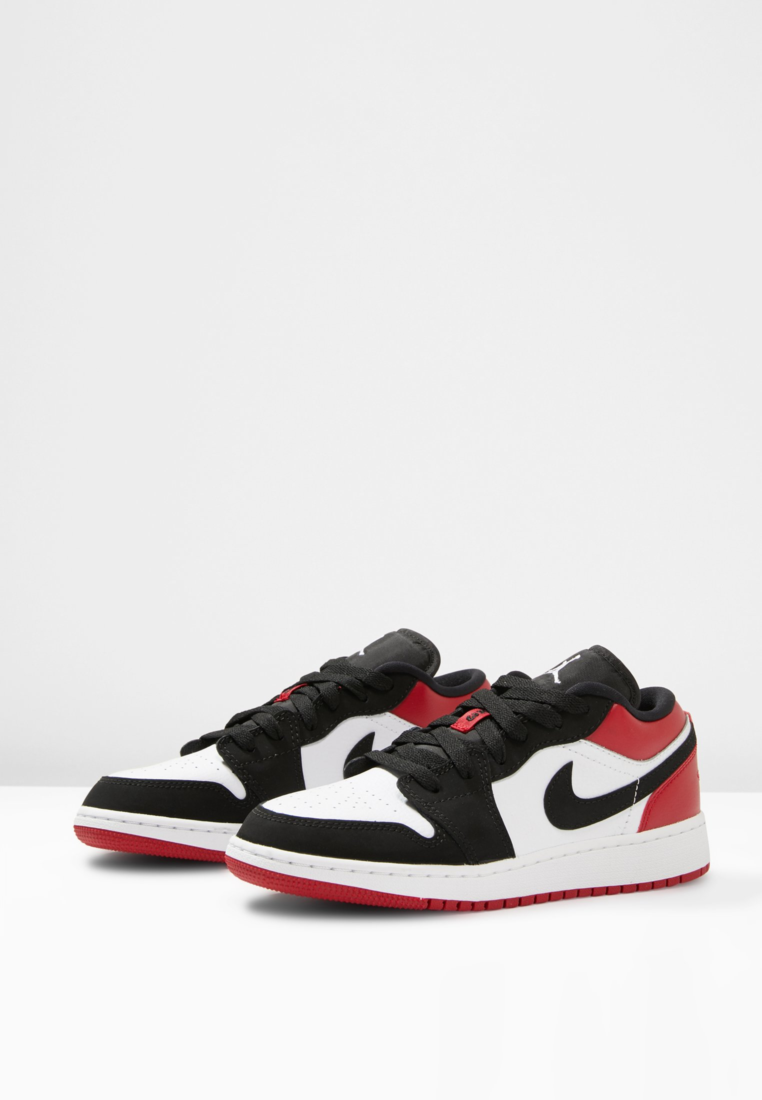 AIR JORDAN 1 LOW BG - Trainers - white/black/gym red