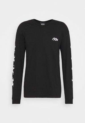 NINJA TUNE - Pitkähihainen paita - black