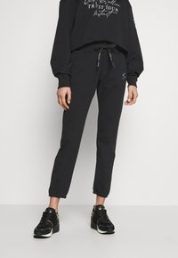 Replay - ROSE COLLECTION PANTS - Pantaloni sportivi - black - 0
