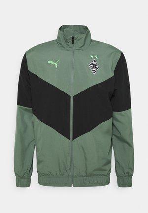 BORUSSIA MÖNCHENGLADBACH PREMATCHJACKET - Klubové oblečení - laurel wreath/puma black/elektro green