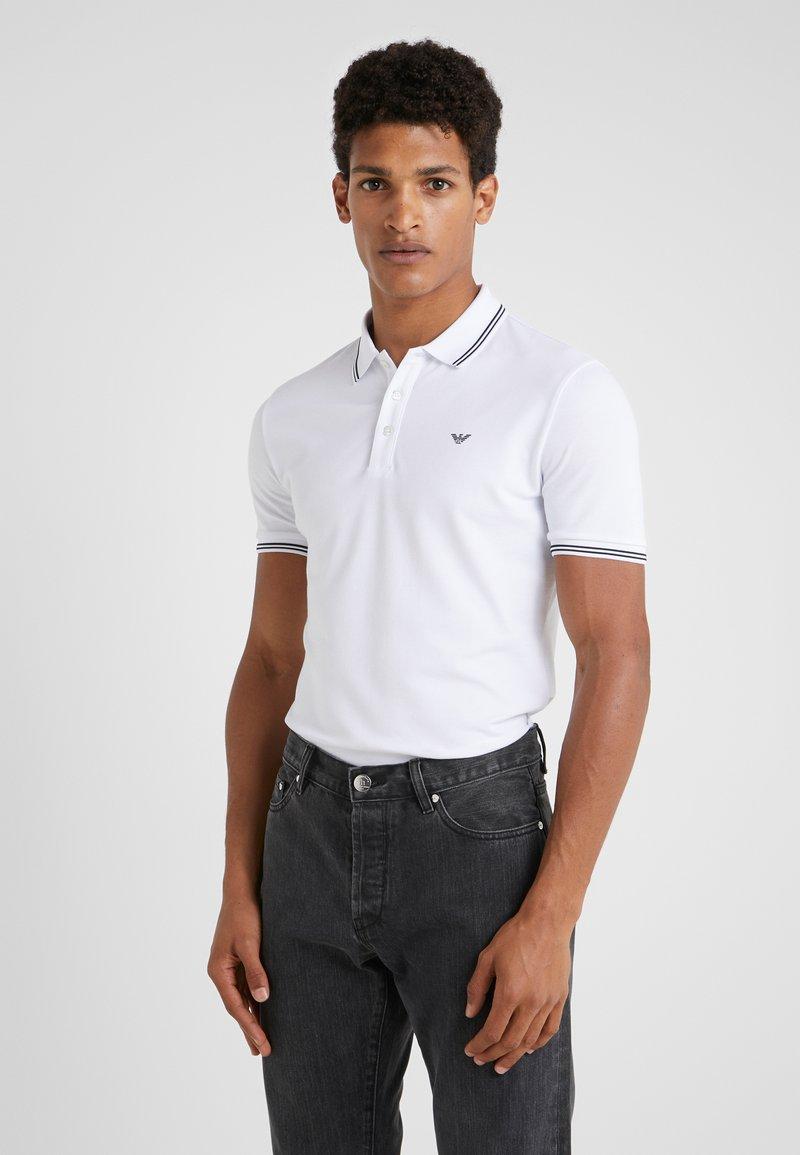 Emporio Armani - Poloshirt - bianco ottico