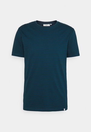 LUKA - Print T-shirt - majolica blue