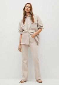 Mango - MAIA - Button-down blouse - beige - 1