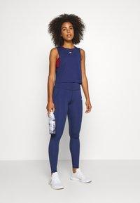 Tommy Sport - PERFORMANCE TANK  - Sports shirt - blue - 1