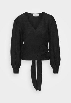 PATTI - Bluzka z długim rękawem - black