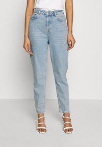 Selected Femme - MOM - Straight leg jeans - light blue denim - 0