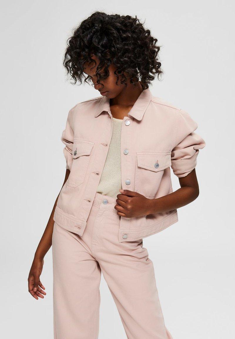 Selected Femme - Denim jacket - potpourri