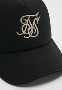 SIKSILK - TRUCKER - Cap - black/gold - 5