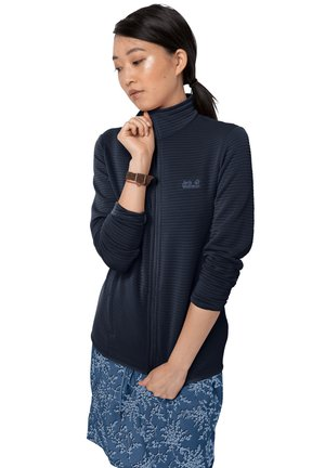 MODESTO - Fleece jacket - midnight blue