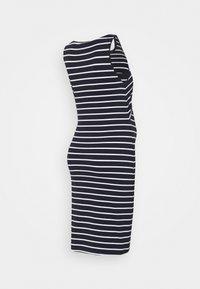 Anna Field MAMA - NURSING - 2 PACK - Jersey dress - Jerseykjole - dark blue/multicoloured - 3