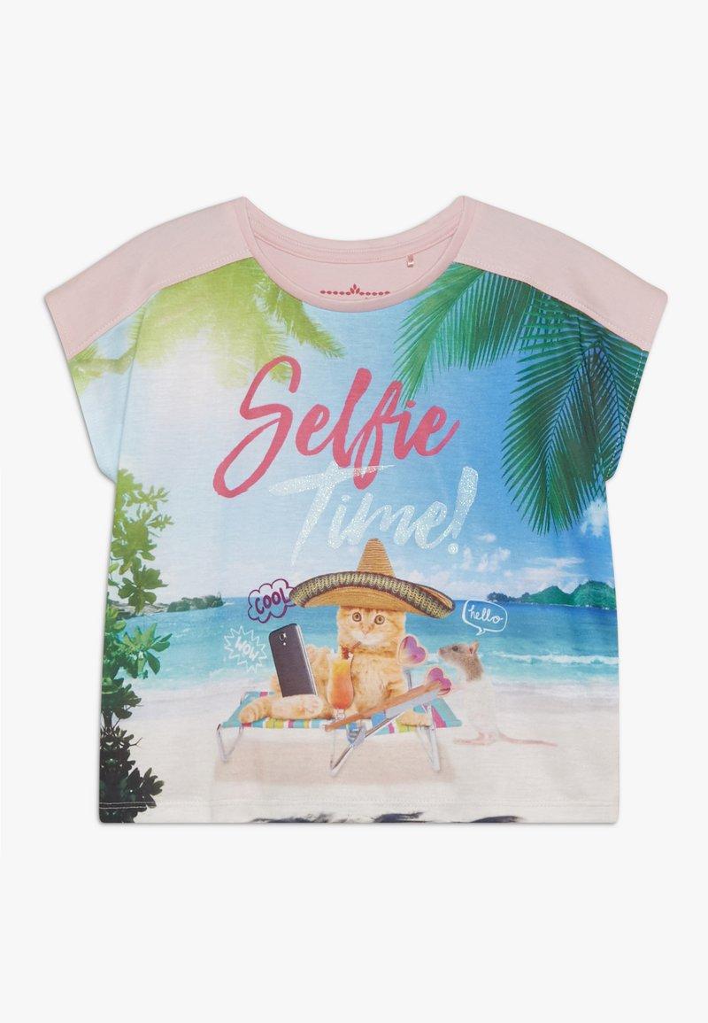 Lemon Beret - SMALL GIRLS - T-shirt print - orchid pink