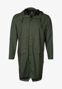 LONG JACKET UNISEX - Waterproof jacket - green