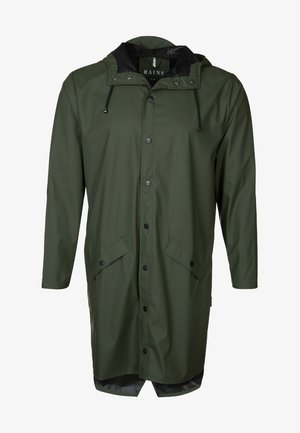 UNISEX LONG JACKET - Vodotěsná bunda - green