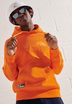 Hoodie - hazard orange