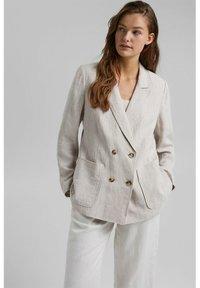 Esprit - Short coat - light beige - 0