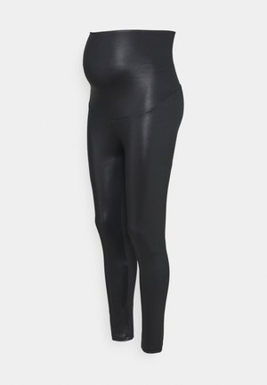 ONCE-ON-NEVER-OFF GLAM LEGGINGS - Leggings - black