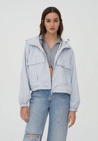 PULL&BEAR - Summer jacket - light blue - 0