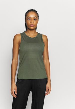 DRAPY MUSCLE TANK - Topper - northern green