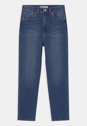 RIBCAGE ANKLE STRAIGHT - Džíny Straight Fit - blue denim/blue