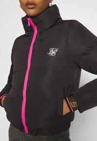 SIKSILK - ROMA CROP JACKET - Winter jacket - black - 5