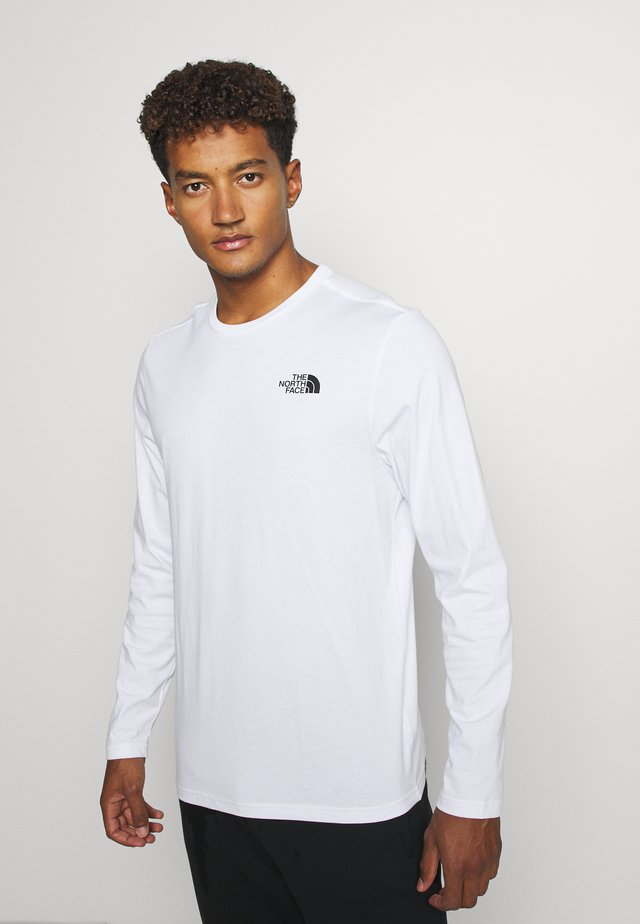 MENS EASY TEE - Long sleeved top - white