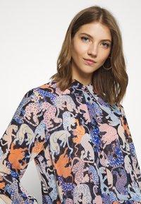 Monki - COLLINA DRESS - Skjortekjole - blue - 4
