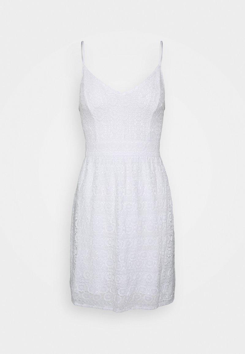 Abercrombie & Fitch - CAMI MINI - Day dress - white