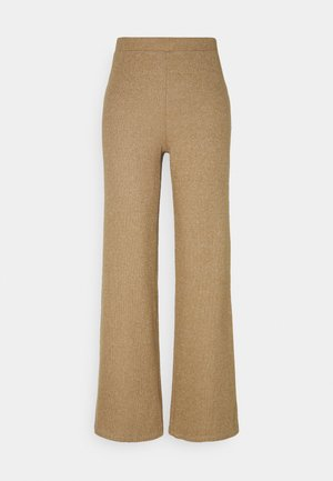 NMMERVE LOOSE PANT - Trousers - camel