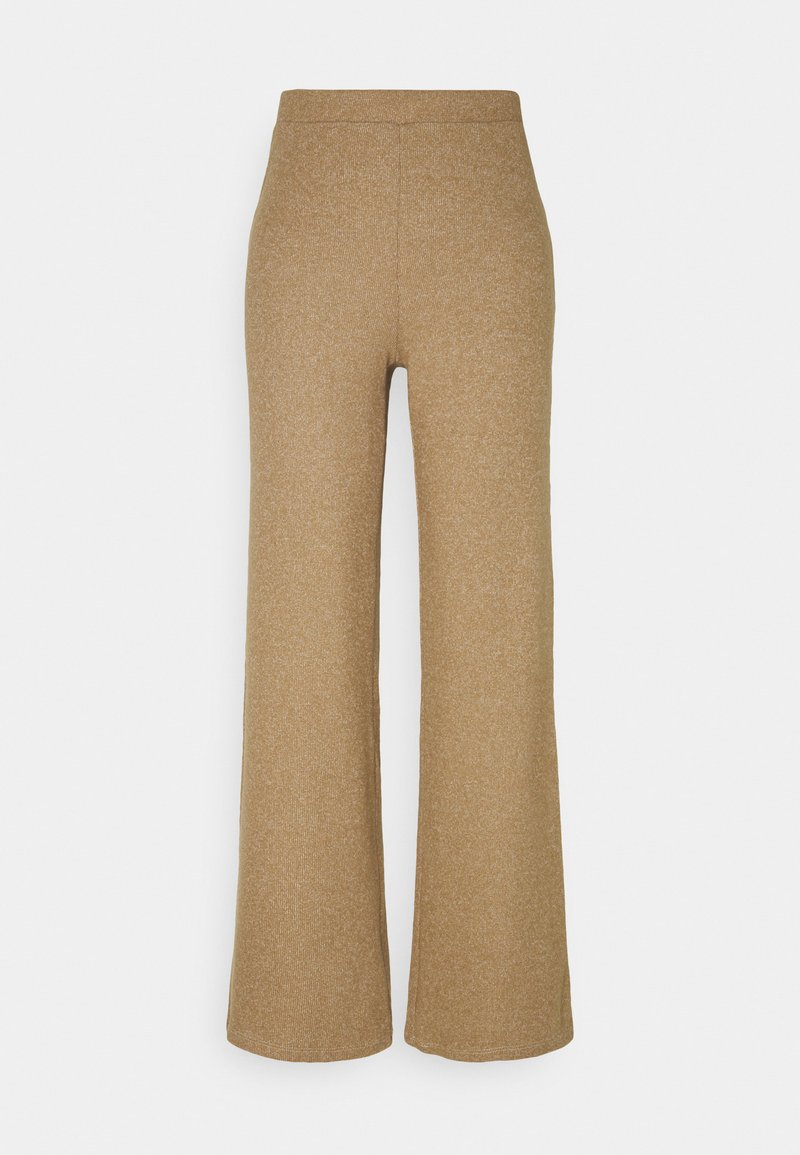 Noisy May - NMMERVE LOOSE PANT - Trousers - camel